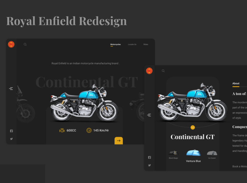 Royal Enfield Redesign