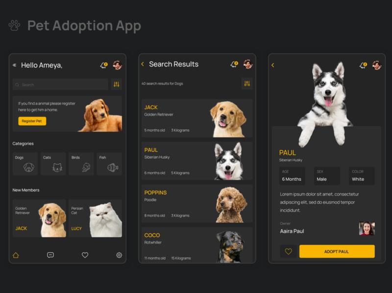 Pet Adotpion App