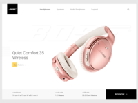 Bose Page Redesign