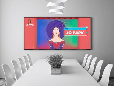 JQ-PARK女神购物节海报 女神购物节海报