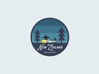 New Zealand Badge.