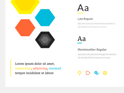 Style Guide palette color rebrand guide style