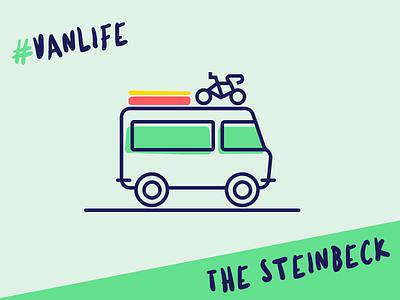 #vanlife weekend weekend adventure travel van illustrations vanlife