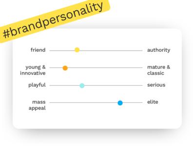Brand Personality sprint ux ui design brand branding
