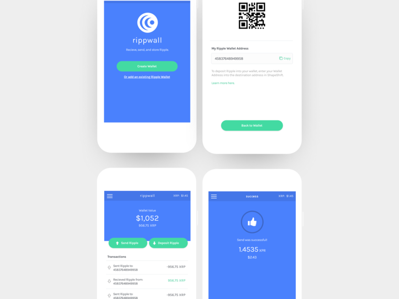 crypto wallet mobile wallet transactions ripple cryptocurrency crypto wallet crypto blockchain