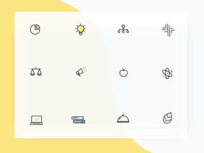 when shapes take on meaning edtech visual design education icons design iconography icons icon icons set