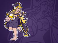 Vicbeach Vikings - Female Mascot