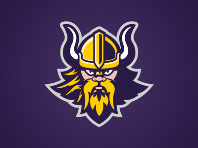 Vicbeach Vikings logo design custom design australia sports illustration viking volleyball athletic