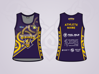 Vicbeach Vikings - Rebound Vic - Singlet