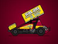 410 Sprintcar Retro Livery - Tony Noske