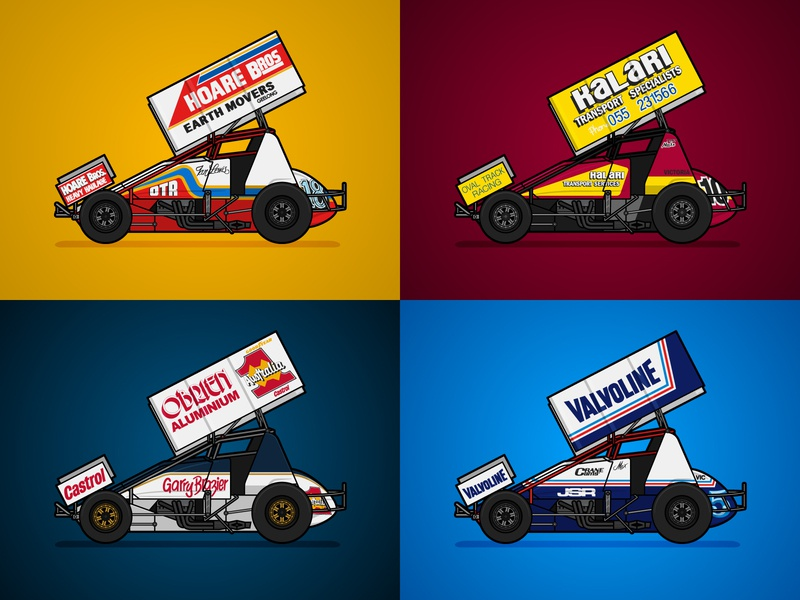 Top 4 of 2018 livery racing motorsport 2018 top 4