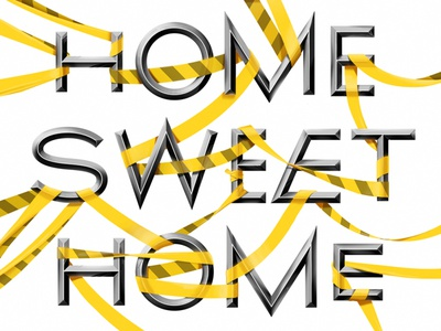 home sweet home? design lettering typo graphic stayathome typography type illustration