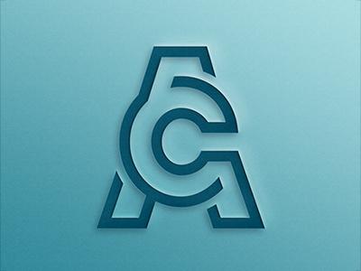 AC logo ac symbol identity icon design branding logo
