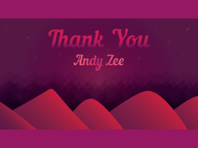 Thank You Andy Zee