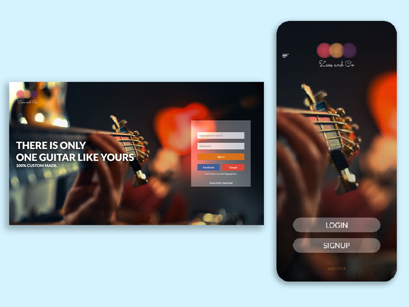 Zeus & co #04 landing page web design daily ui inspiration mockup app design user experience user interface graphic design ux ui