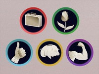 Centenspel Icons