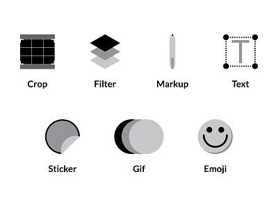 Photo Edit Icons image editing editing photoediting edit photo edit photo app icons set icons
