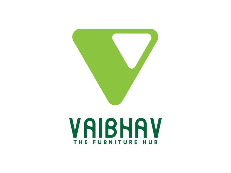 Vaibhav - The Furniture Hub | Logo logo design rebranding logotype simple illustration typography mark logo icon identity branding
