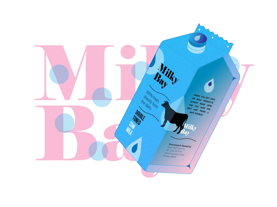 Dribbble packaging milk 3