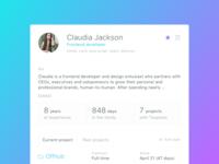 Talent App - human resource management tool - member details