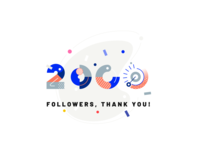 2000 Followers, Thank you!