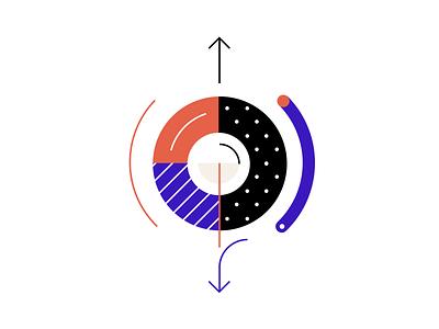 Process illustration pattern clean illustration simple