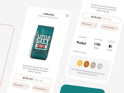 otto - coffee app #4 user inteface app design coffee ux ios ui mobile app