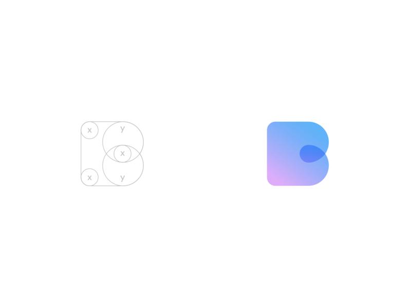 Blend insurance - logo rejected concept ios app mobile application brandbook mark signature brand style design exploration visual identity brandbook insurance icon combinations bright colors guide brand design logo