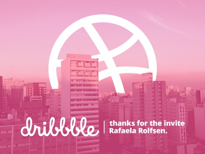 Hello dribbble debut brazil sp paulo sao landscape heitortrevisan invite dribbble hello