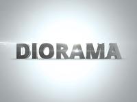 Diorama. 3D