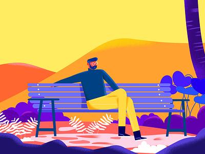 heaven illustree dribbble vector characterdesign illustration minimaldesign minimal design