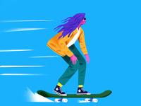 Skating lady👩