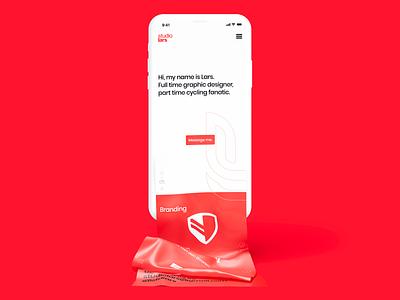 Portfolio homepage clean portfolio design minimalist mobile ui portfolio