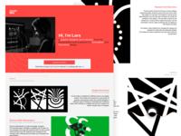 Portfolio website variation