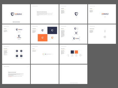 Basic Branding Guidelines logotype grid color clean vector design branding concept logo guide styleguide logo guidelines logodesign logo branding design guidelines branding