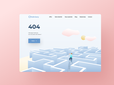 404 illustration clean user website color ux minimalism design ui minimalist