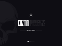 Cozma  Thoughts Youtube Channel Cover