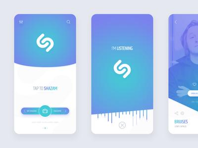 Shazam App Redesign