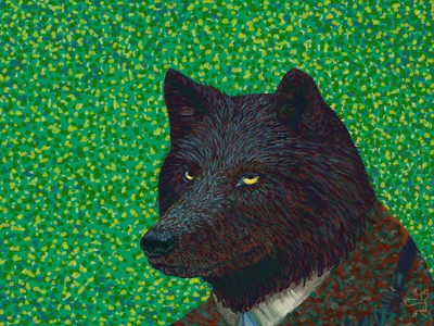 Wolf in Van Gogh's Clothing
