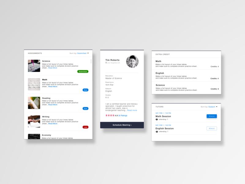 Dashboard Components illustration dashboard app ux design adobexd uxui adobe xd web design ux graphic design sketch ui