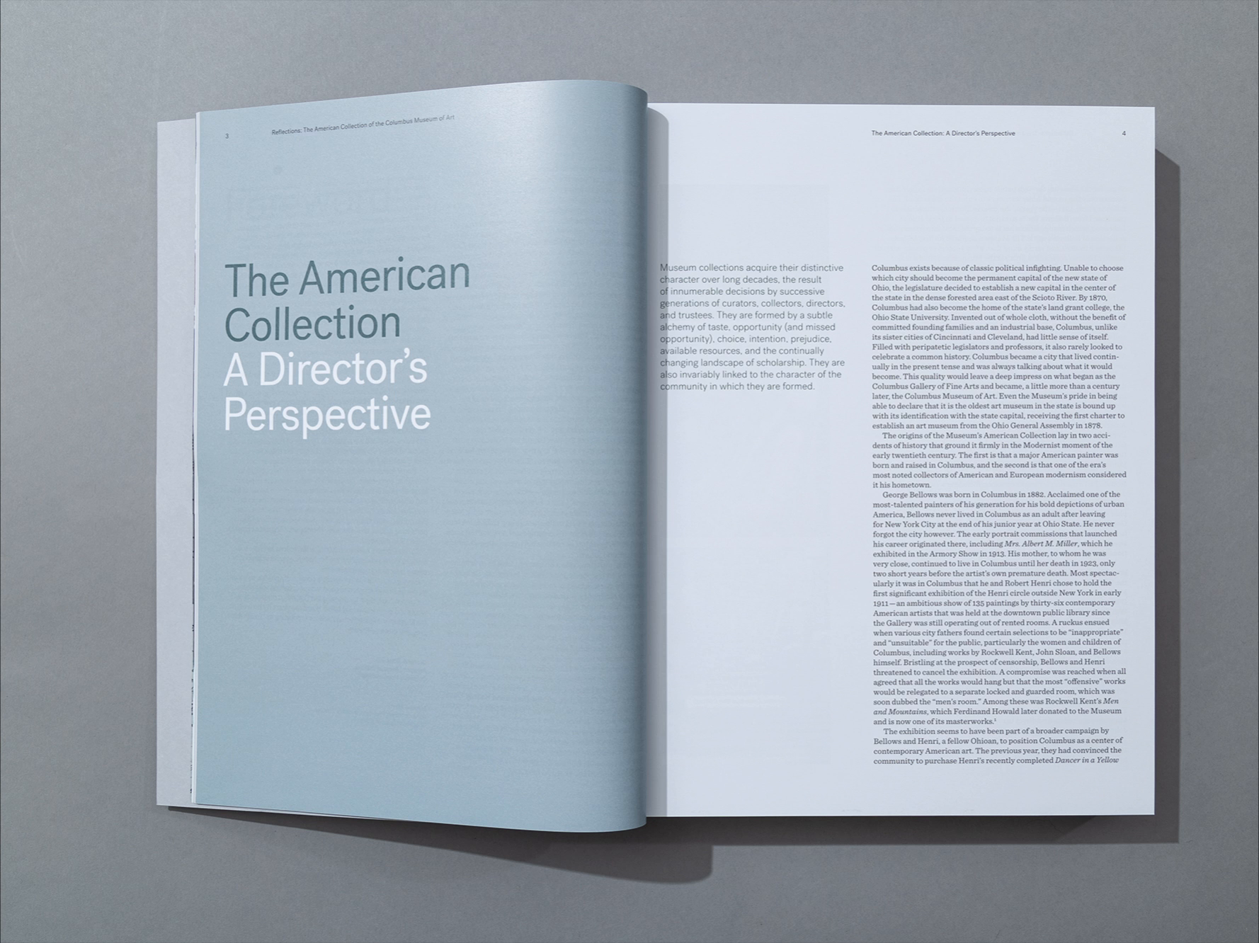 Reflections Book - Director's Perspective Essay