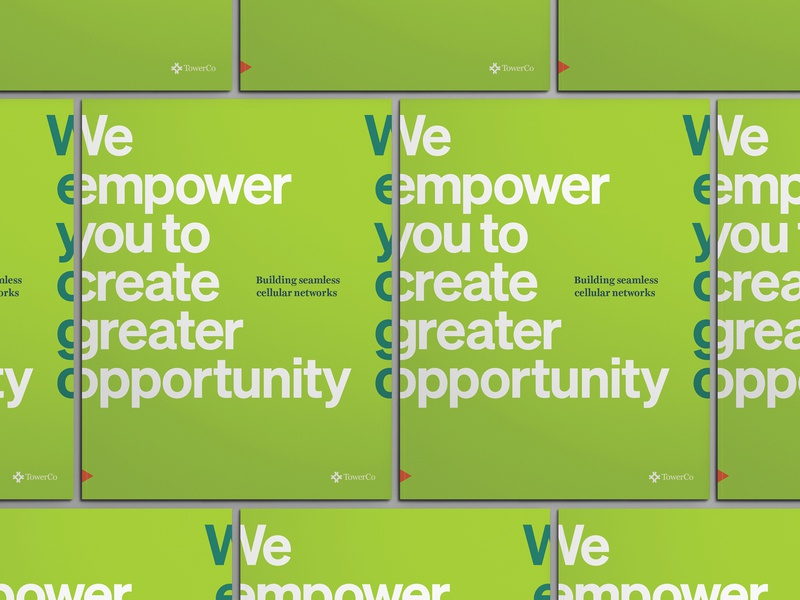 Unused Concept - TowerCo City Municipality Brochure brochure unused concept concept branding print