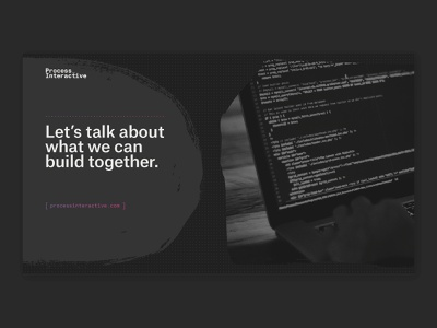 Unused Concept - Process Interactive branding design concept identity branding