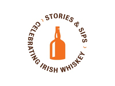 Unused Concept - Stories & Sips ireland irish whiskey whiskey brand identity brand elements lockup badge logo design branding typography