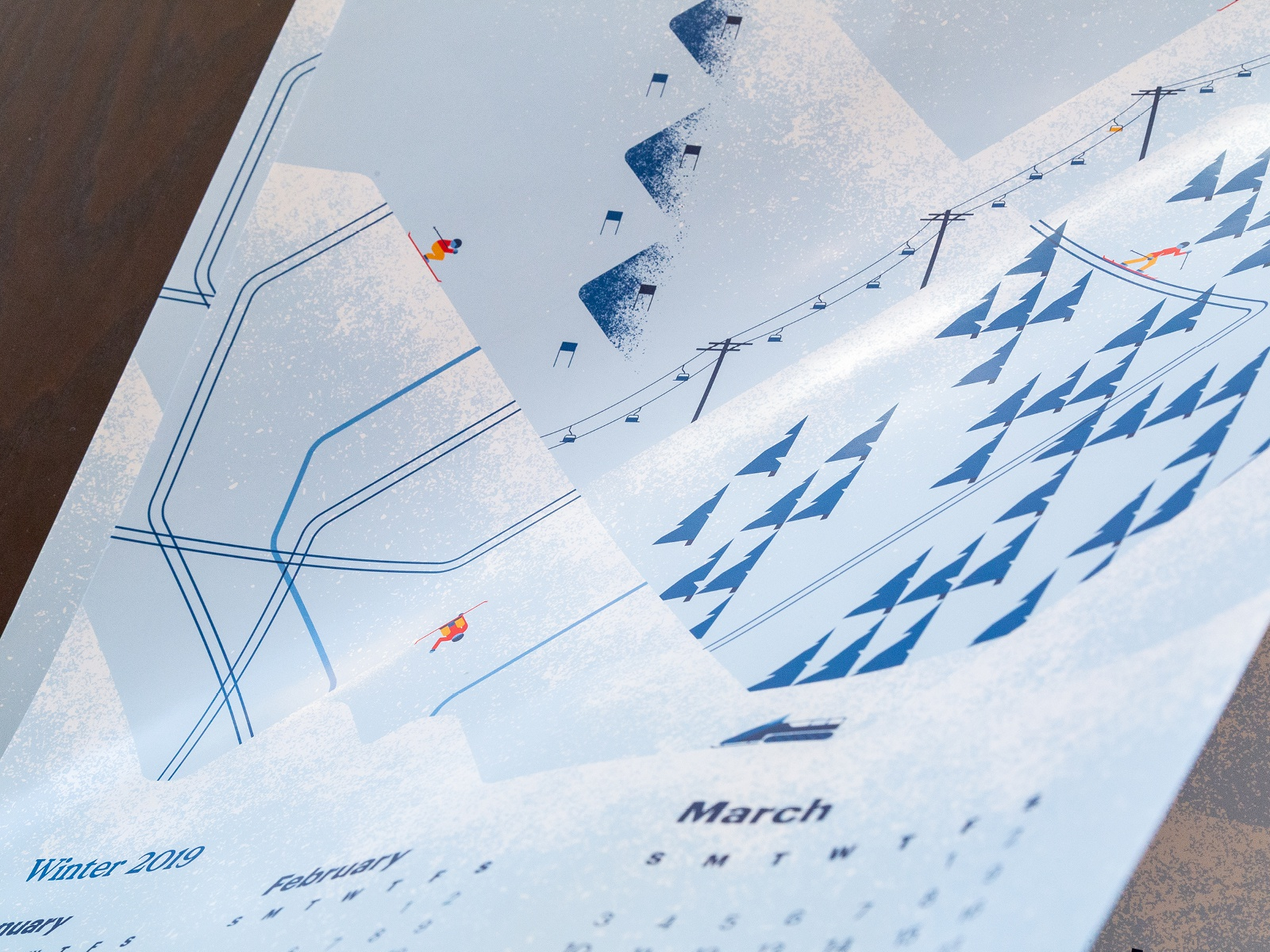 Hopkins Printing Winter 2018 Calendar