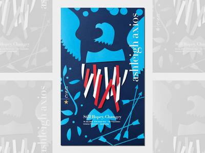 Ashleigh Axios Event Poster Design