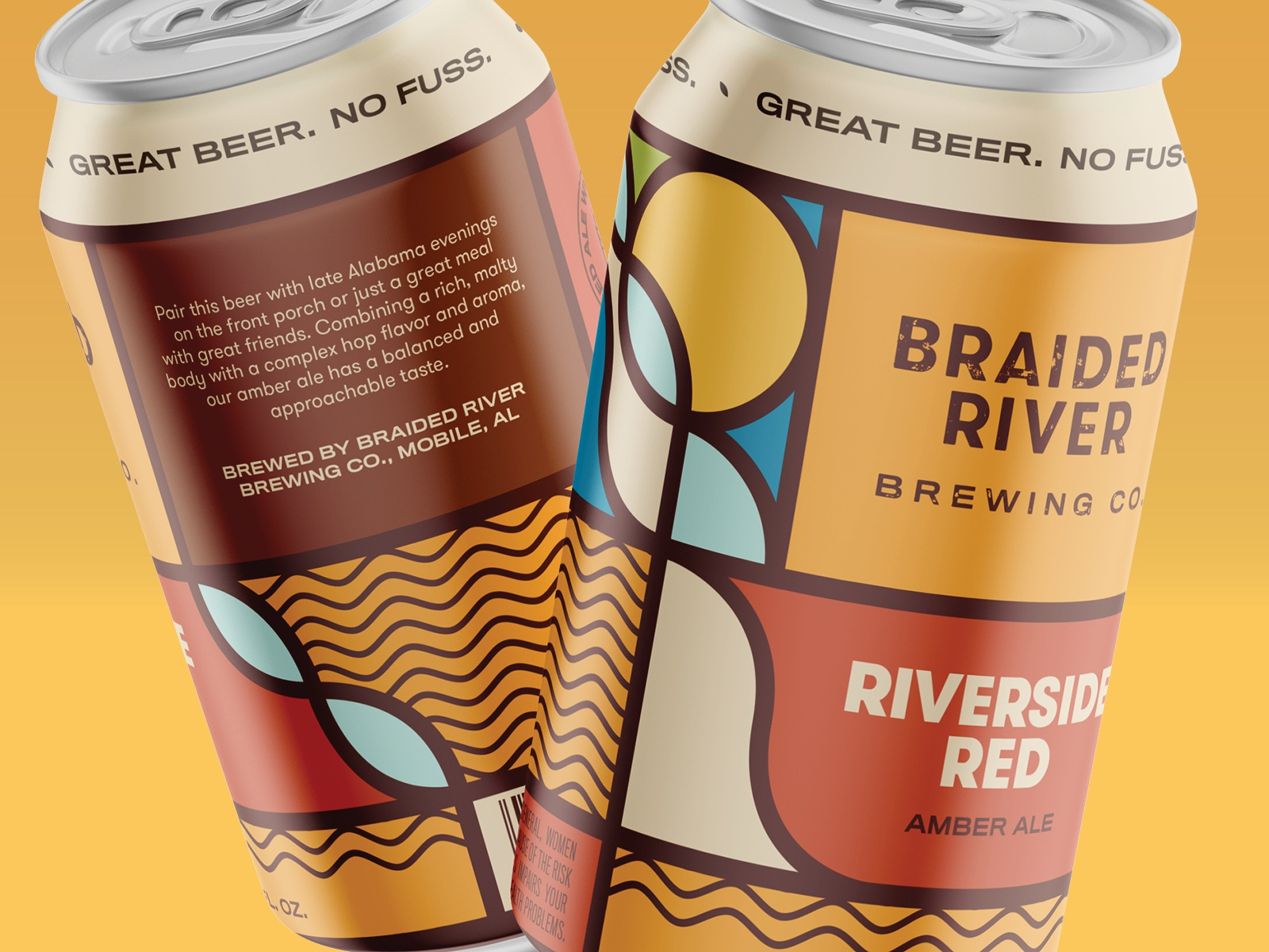 Braided River Brewing Company Can Concepts