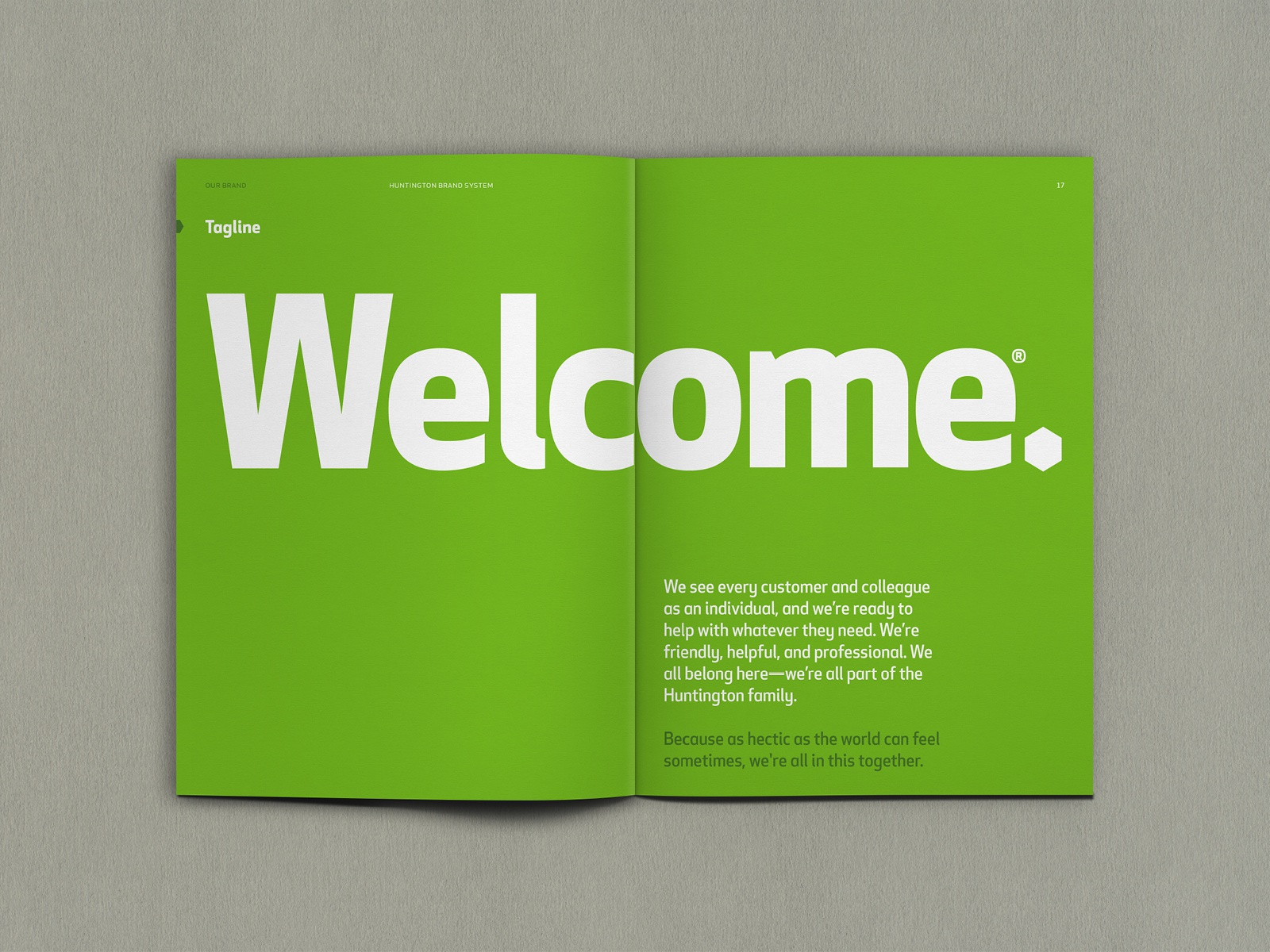 Huntington Bank Brand System