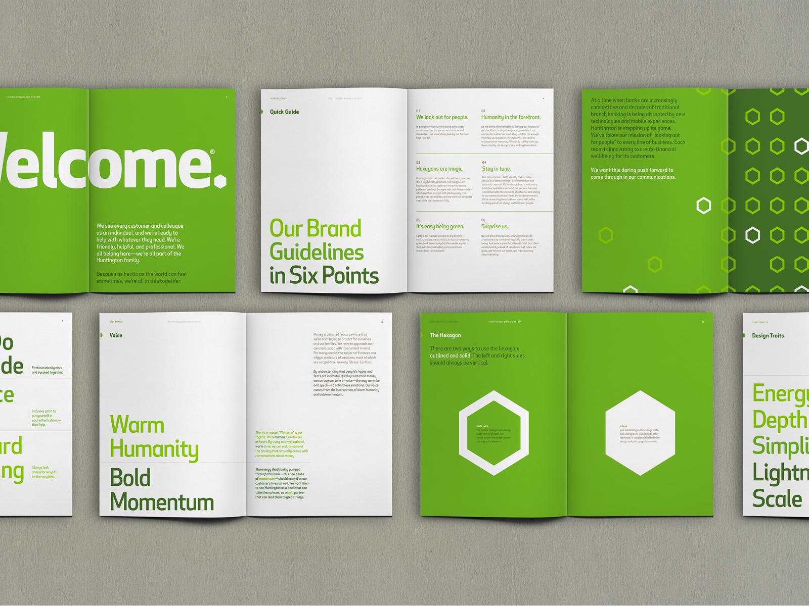 Huntington Bank Brand Book