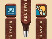 Braided River Tap Handles